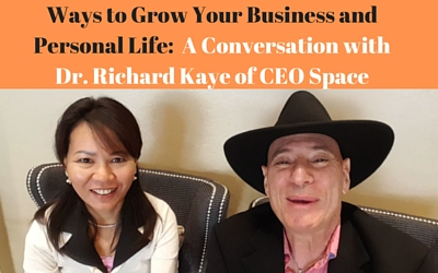 Conversation with Dr. Richard Kaye of CEO Space