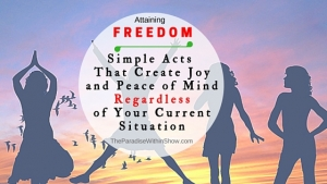 Attaining freedom (1)