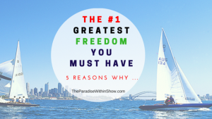The #1 freedom